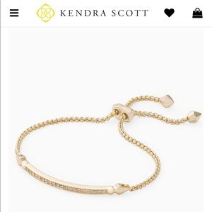 Ott Kendra Scott adjustable  gold bracelet